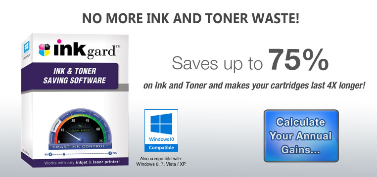 Inkgard Ink & Toner Saving Solution