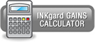 INKgard GAINS CALCULATOR